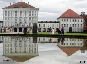 El Castillo de Nymphenburg en Múnich.
