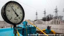 Gas Pipeline bei Kiew Ukraine