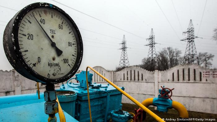 Gas Pipeline bei Kiew Ukraine