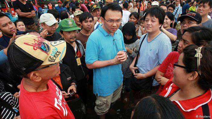 Basuki Tjahaja Purnama Vizegouverneur Jakarta Indonesien