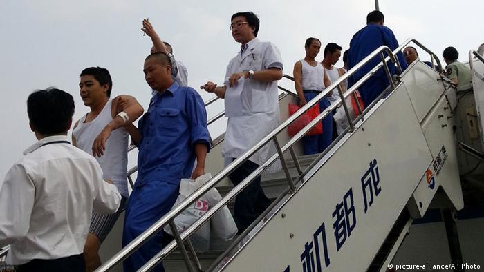 China Evakuierungsaktion in Vietnam 18.05.2014