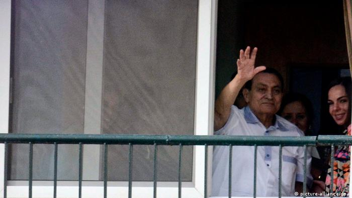 Hosni Mubarak Krankenhaus Kairo 04.05.2014