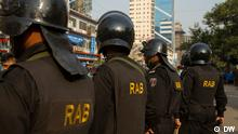 Rapid Action Battalion or RAB is an elite anti-crime and anti-terrorism unit of the Bangladesh Police. Although the RAB has been successful in apprehending several high-profile terrorists, including the infamous Bangla Bhai, Human Rights Watch International has accused RAB of numerous deaths, which have been attributed to crossfire. *** DW, Dhaka