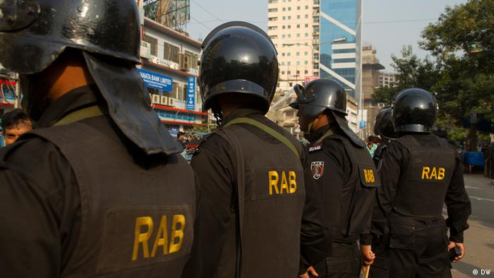 Rapid Action Battalion (RAB) in Bangladesh (DW)