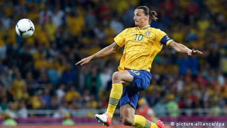 Fußball UEFA Euro 2012 Schweden gegen England