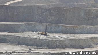 Myanmar copper mine in Monywa