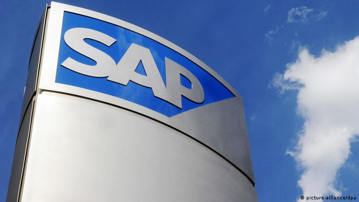 The SAP logo.