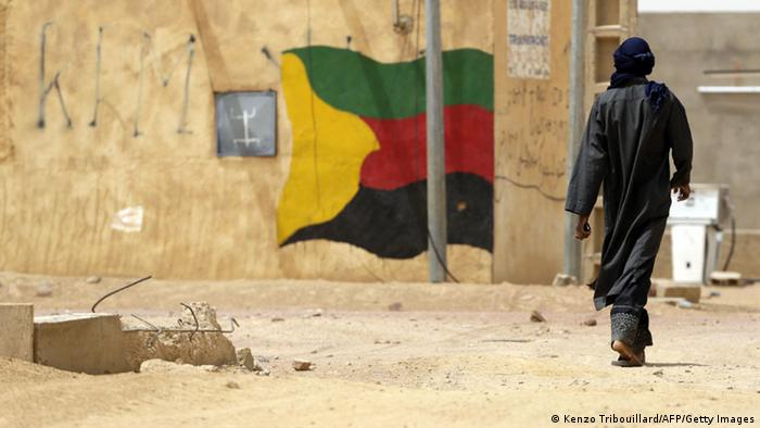 Bewegung Befreiung Azawad Gebiet Tuareg Mali MNLA Afrika Mali