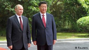 China Wladimir Putin und Xi Jinping 20.05.2014