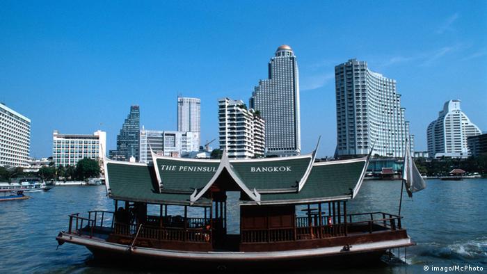 Bangkok Finanzviertel Bangrak