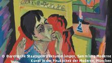 Deutschland Ausstellung Farbenmensch Kirchner Pinakothek der Moderne in München