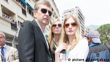 Dmitry Rybolovlev with his family pictured at the Grand Prix of Monaco during Formula One World Championship 2012, in Monte Carlo, Monaco, on May 27, 2012. Photo by Marco Piovanotto/ABACAPRESS.COM # 321922_063
