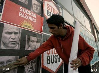 Mar del Plata terá protestos contra Bush na Cúpula das Américas