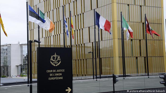 Europäischer Gerichtshof. (Foto: Horst Galuschka)