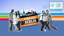 Deutschkurse Ticket nach Berlin Grimme Online Award