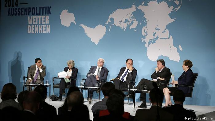 Deutschland Deutsche Welle Review 2014 - Außenpolitik Weiter Denken Konferenz