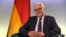Review 2014 - Außenpolitik Weiter Denken Deutschland Deutsche Welle Review 2014 DW-Interview mit Frank Walter Steinmeier 20.05.2014