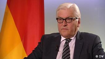 Deutschland Deutsche Welle Review 2014 DW-Interview mit Frank Walter Steinmeier