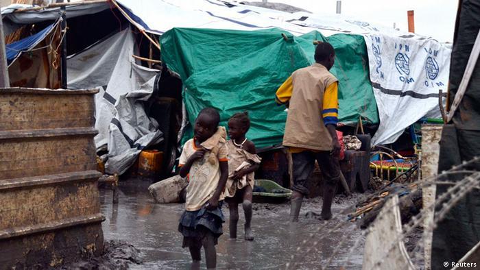 Südsudan Flüchtlingslager
