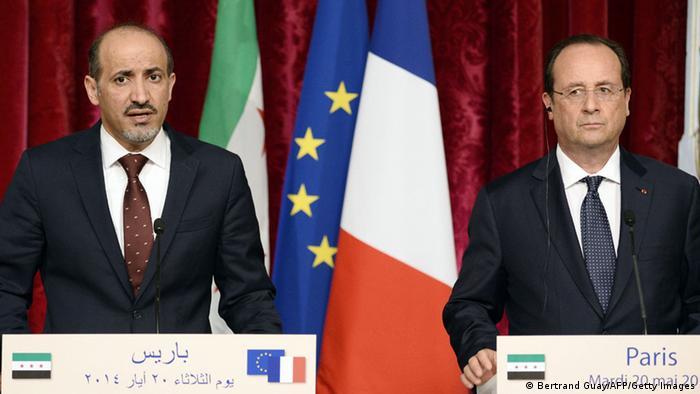 Frankreich Treffen Hollande Jarba