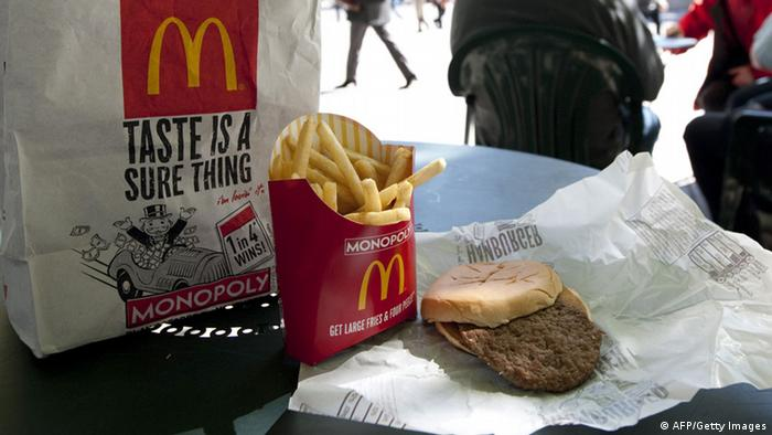 McDonald's meal (Photo: DON EMMERT/AFP/Getty Images)
