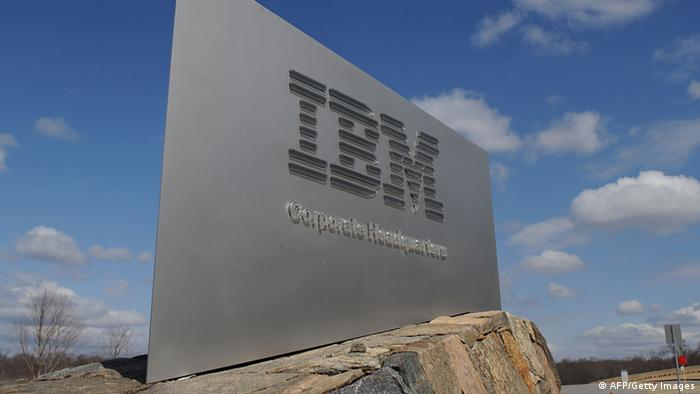 IBM logo (AFP/Getty Images)