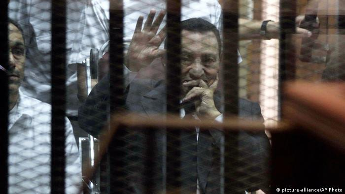 Ägypten Gericht verurteilt Mubarak zu mehrjähriger Haft 21.05.2014 (picture-alliance/AP Photo)