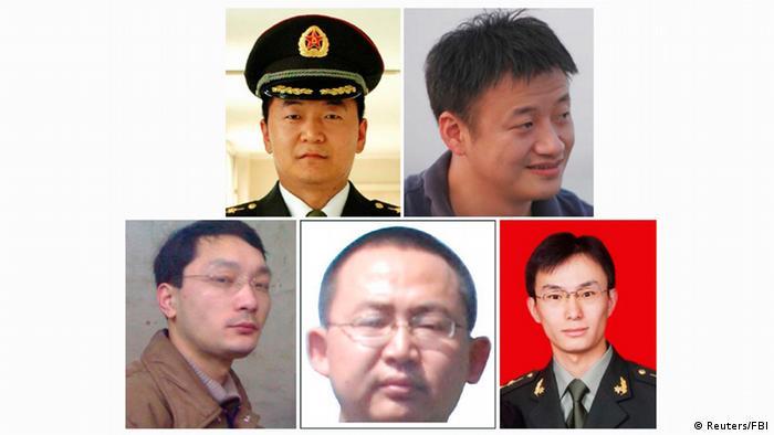 China USA Cyberspionage FBI Kombobild