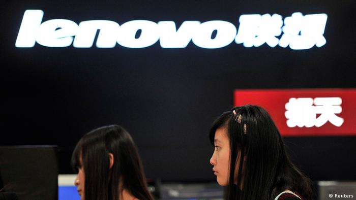 Lenovo Shop in Hefei, China (Foto: REUTERS/Stringer/Files)