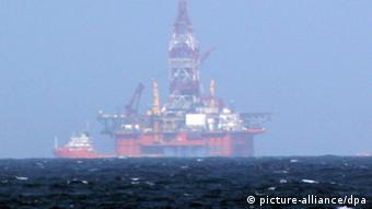 Chinesische Ölplattform