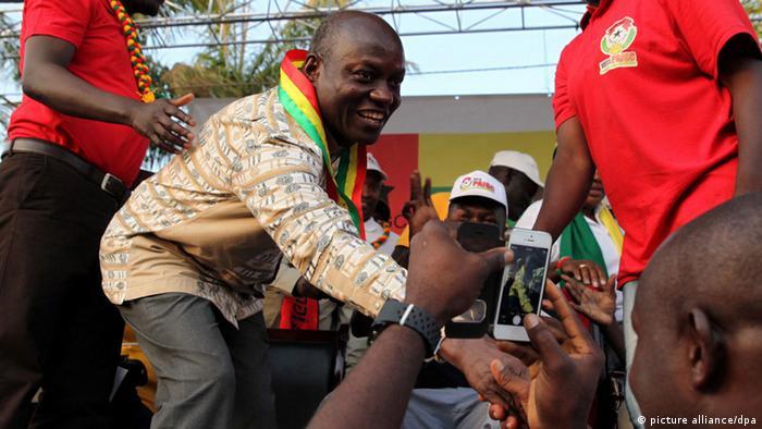 Guinea-Bissau Wahlen 2014 Sieger Jose Mario Vaz