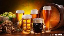 Stillleben Bier Fass
