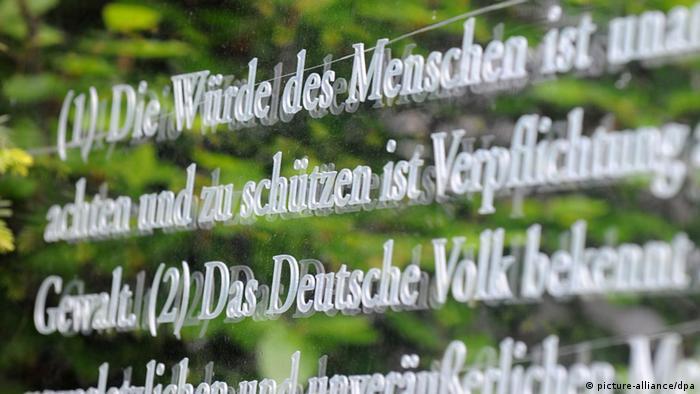 grundgesetz die verfassung der deutschen deutschland