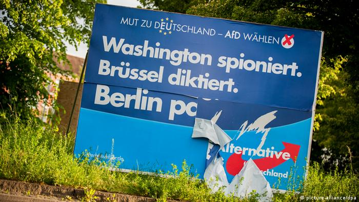 Europawahl 2014 Wahlplakat AfD (picture-alliance/dpa)