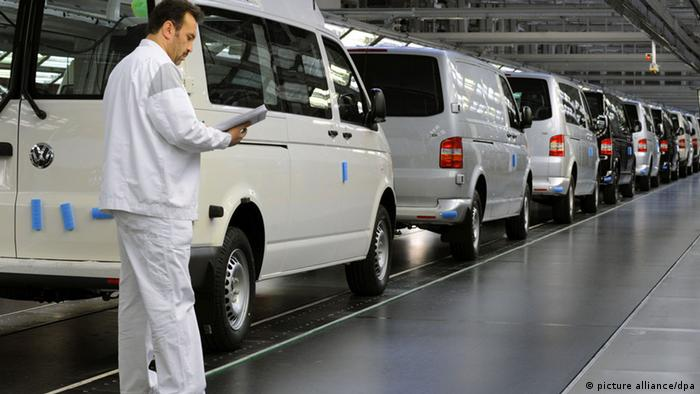 На автозаводі Volkswagen