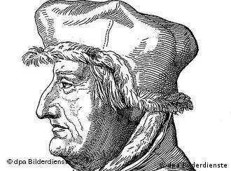 A portrait of astronomer Nicolas Copernicus