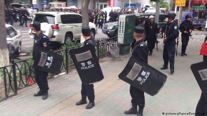 China Anschlag auf einen Markt in Ürümqi 22.05.2014
