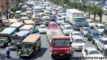 Manila Verkehr Stau