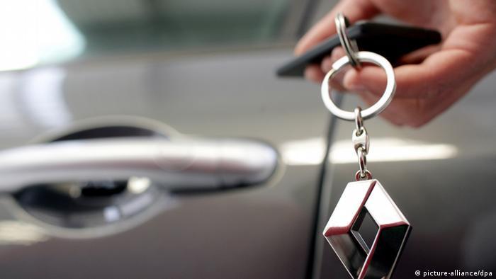 Renault car key