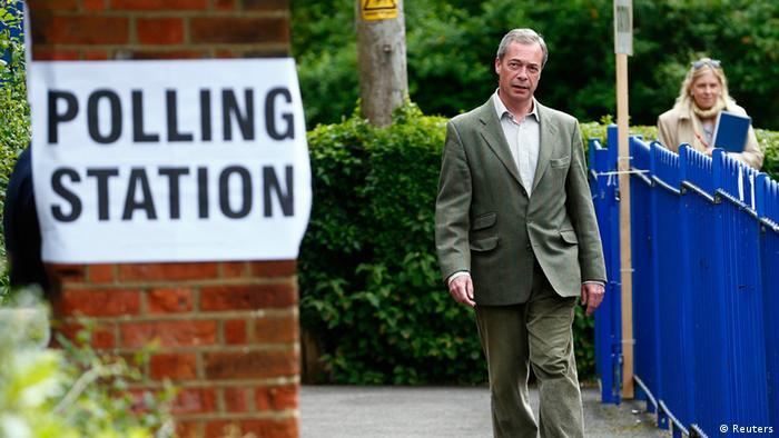 Europawahl Grobritannien Nigel Farage 22.05.2014