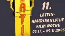 11. LATEINAMERIKANISCHE FILMWOCHE IN DRESDEN Plakat