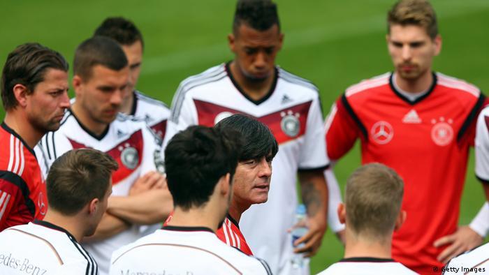 Fußball WM 2014 Nationalmannschaft Training Deutschland