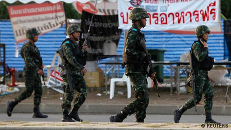 Thai military leaders summon ousted government amid international condemnation