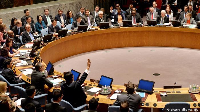UN Sicherheitsrat Resolution Syrien 22.5.2014