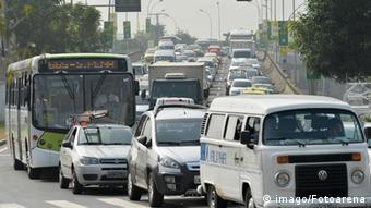 Brasilien Rio De Janeiro Verkehrschaos