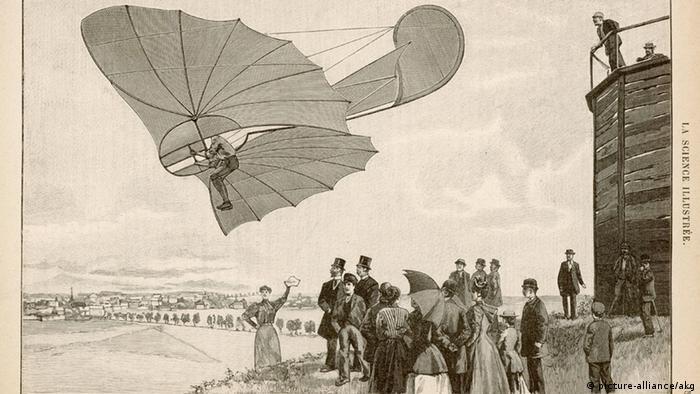 Geschichte des Fliegens Otto Lilienthal