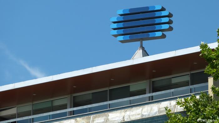 Der staatliche Fernsehsender RTP in Portugal