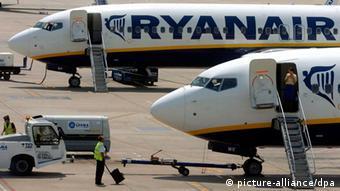 Flugzeuge von Ryanair (Foto: dpa)