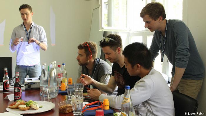 Teilnehmer am Berliner Start-up-Event Berlin