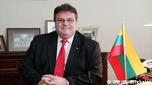 Linas Linkevicius Außenminister Litauen